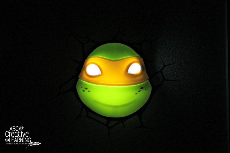 Teenage Mutant Ninja Turtles 3D Deco Night Light