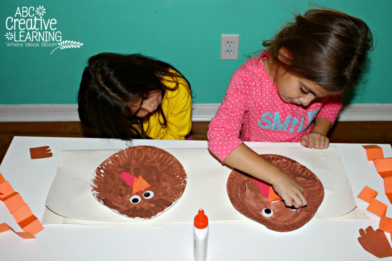 Turkey Kids Craft for Thanksgiving