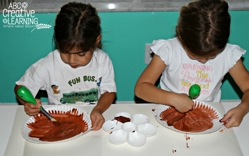 Turkey Painting Craft for Kids