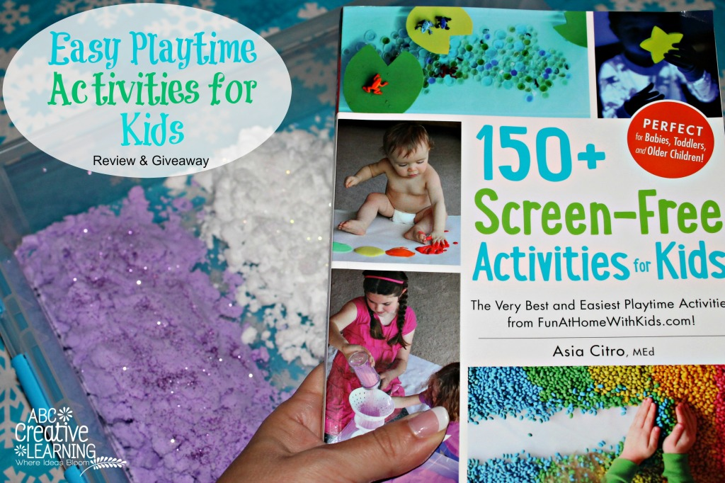 150+ Screen-Free Activities for Kids {Book Review + Giveaway}