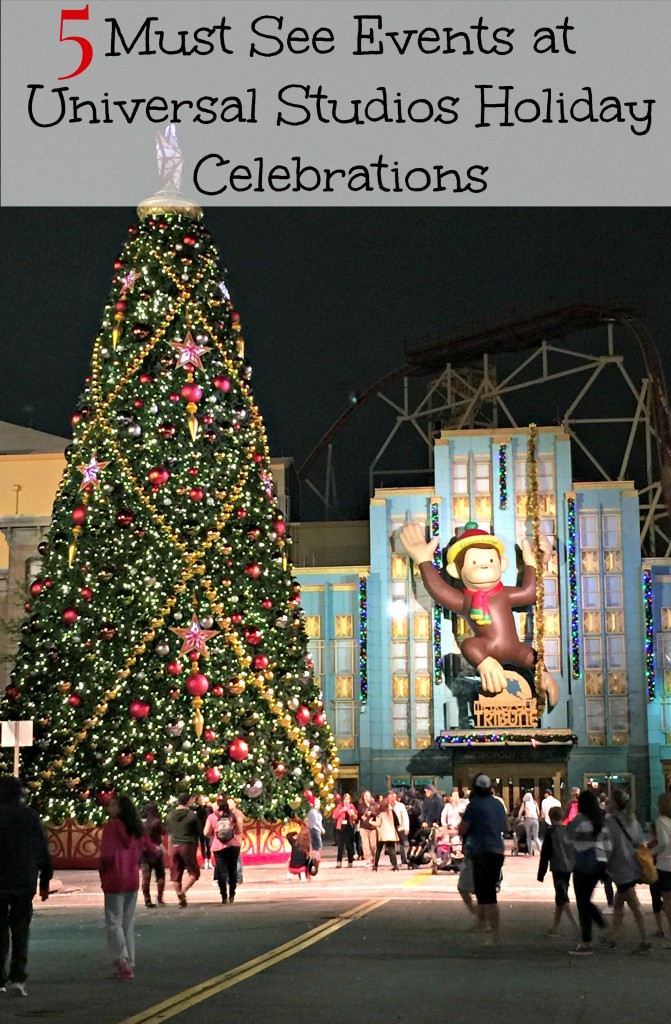 5 Must See Events At Universal Studios Holiday Celebration and Events