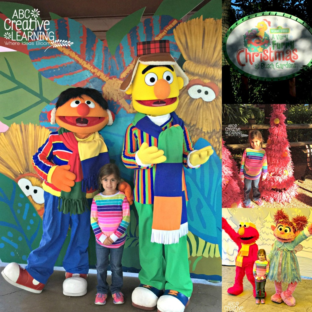 A Very Furry Christmas at Busch Gardens with Sesame Street