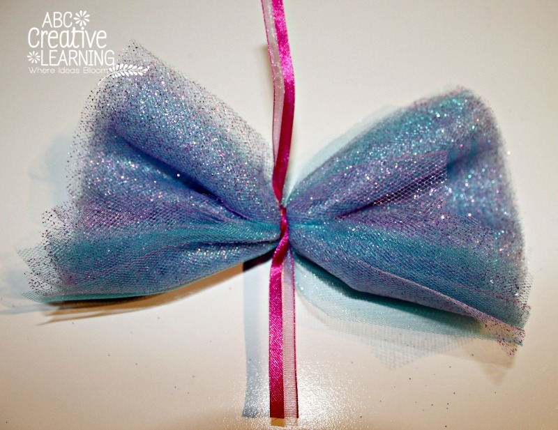 Frozen and Christmas Inspired Dancing Wands Tulle