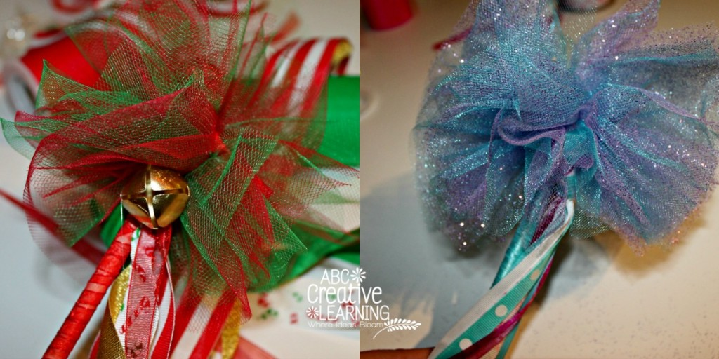 Frozen and Christmas Inspired Dancing Wands Tulle Topper