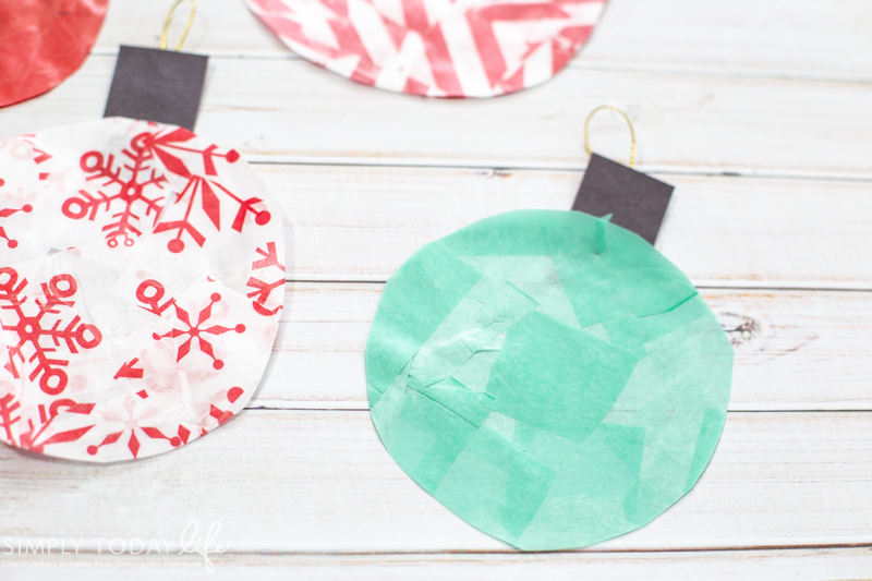 Glass Stained Christmas Window Ornaments Simply Today Life