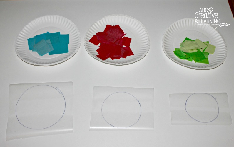 Glass Stained Window Ornaments Kids Craft Materials