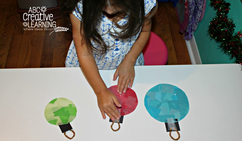 Glass Stained Window Ornaments Kids Craft Toddler Activity