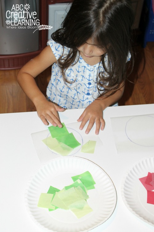 Glass Stained Window Ornaments Kids Craft for Toddlers