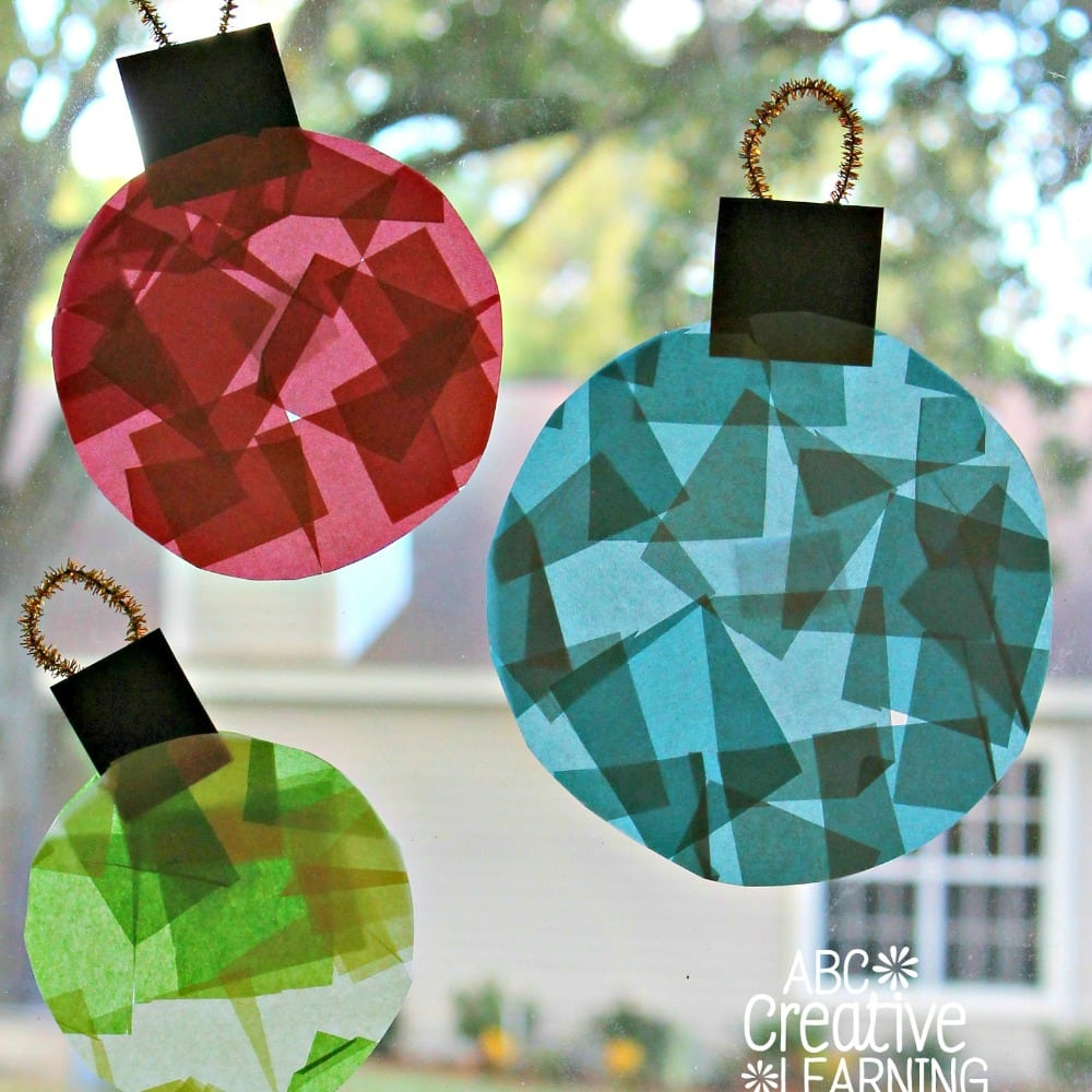 Easy Stained Glass Window Craft