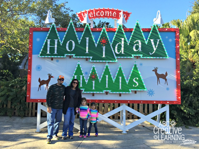 Holiday Hills at Christmas Town Busch Gardens Tampa