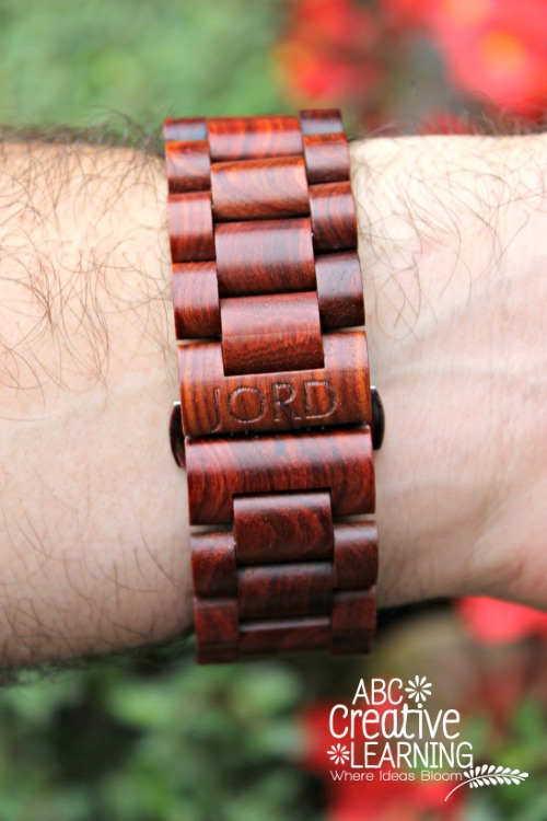 Jord Wood Watch Cherry Review and Giveaway