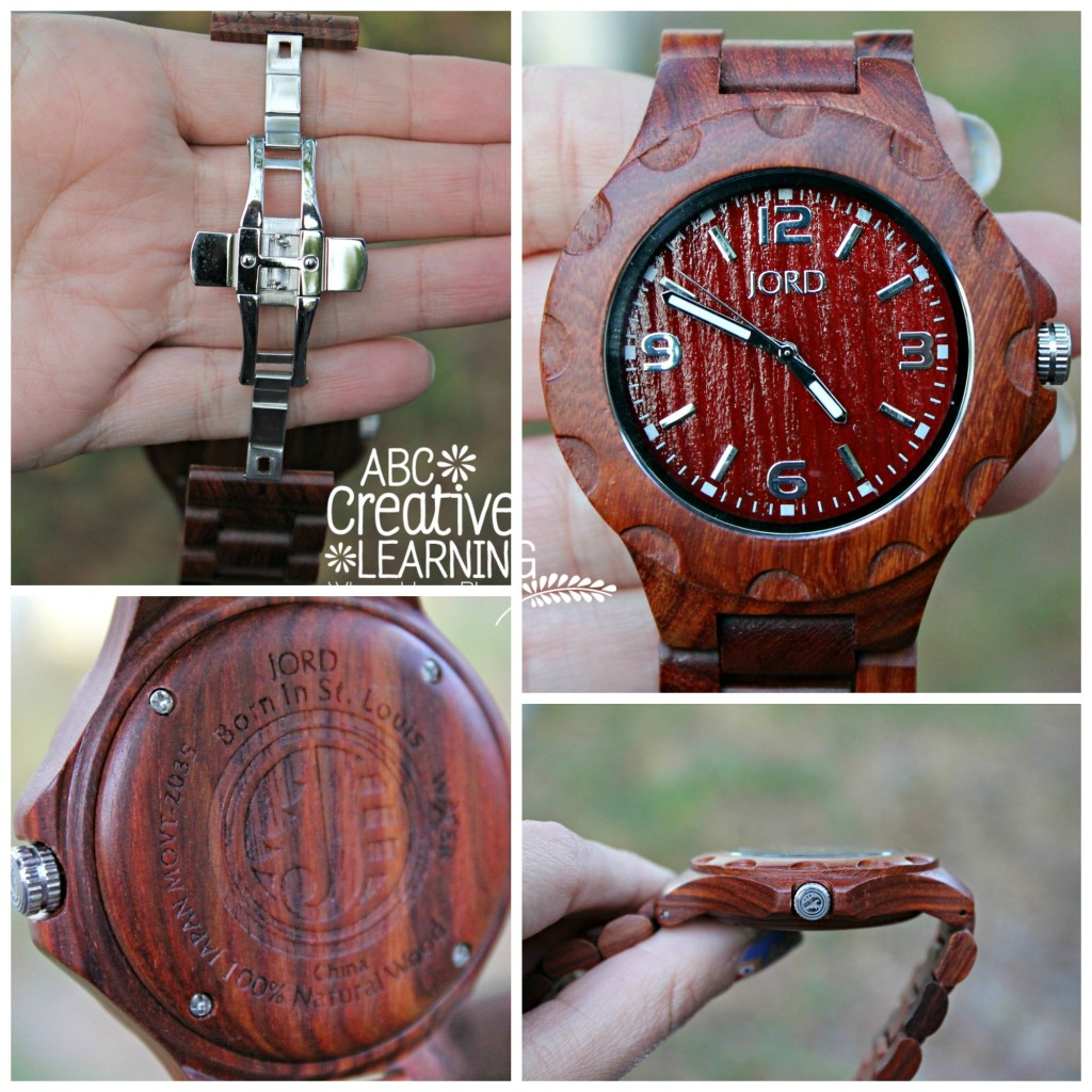 Jord Wood Watch for Men and Women is a Sophisticated Watch Review and Giveaway