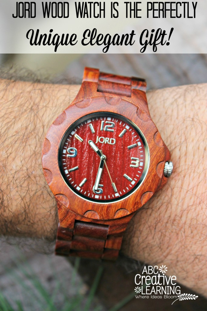 Jord Wood Watch is the Perfectly  Unique Elegant Gift!