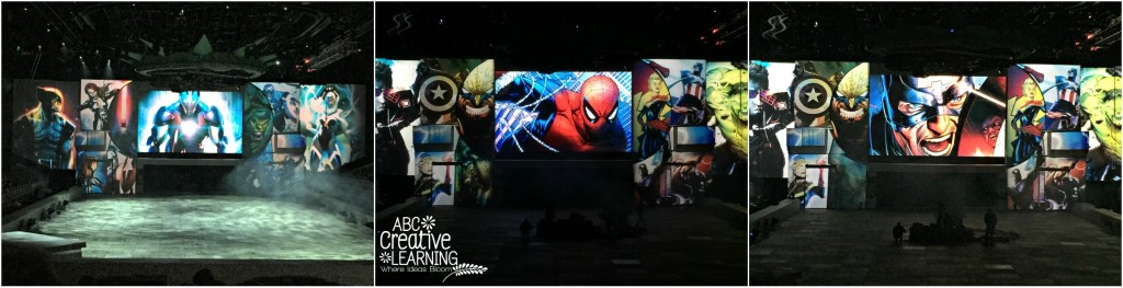 Marvel Universe Live Comic Opening