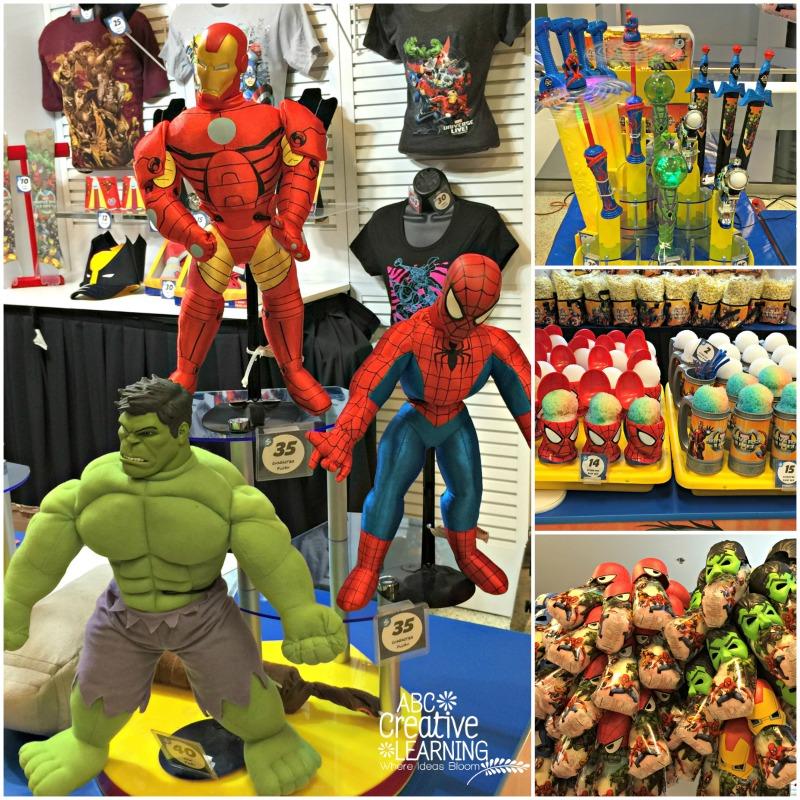 Marvel Universe Live Merchandise and Souvenirs