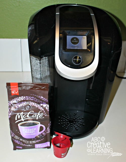McCafé 100 Aribica french roast coffee