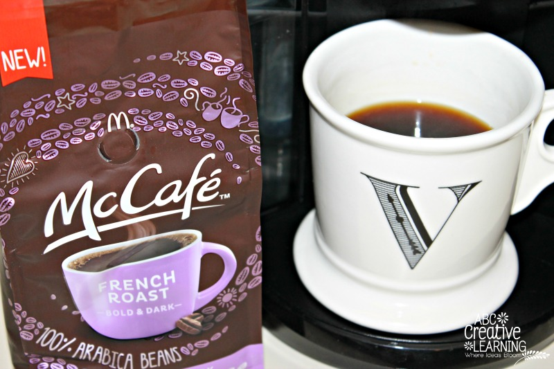 Mommy Mornings with McCafé Coffee French Roast Bold and Dark