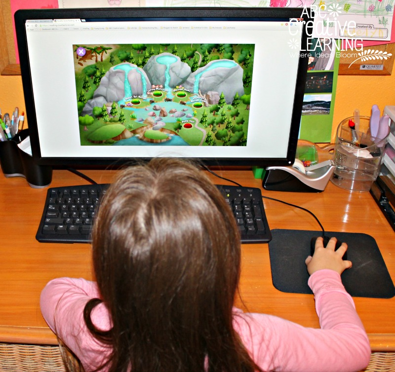 Rosetta Stone Kids Reading Program Fun and Bright World