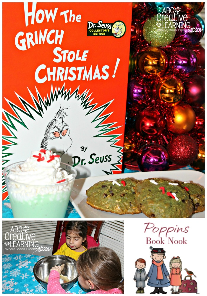To the Kitchen with How the Grinch Stole Christmas {Poppins Book Nook} Kids Book Activity
