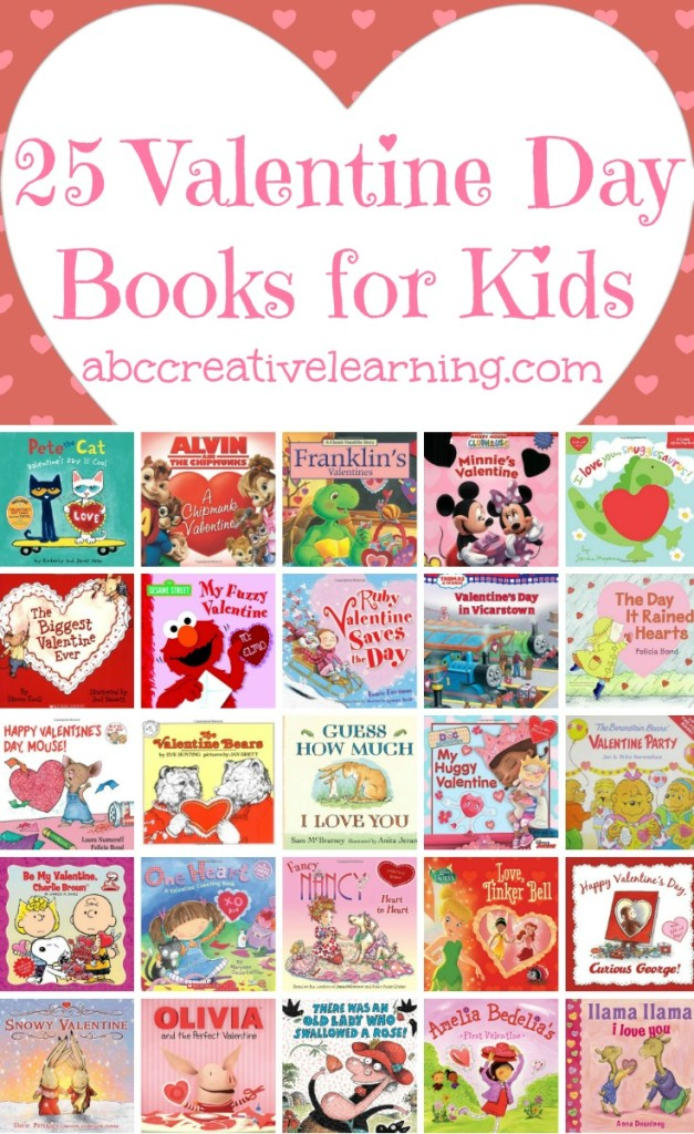 25 Valentine Day Books for Kids - simplytodaylife.com