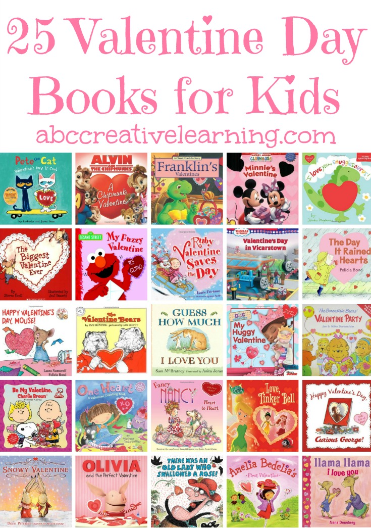 A list of our favorite 25 Valentine Day Books for Kids! Perfect for home, classroom, preschool, and elementary school kids! Plus, a list of our favorite Disney Valentine Day Books! - simplytodaylife.com