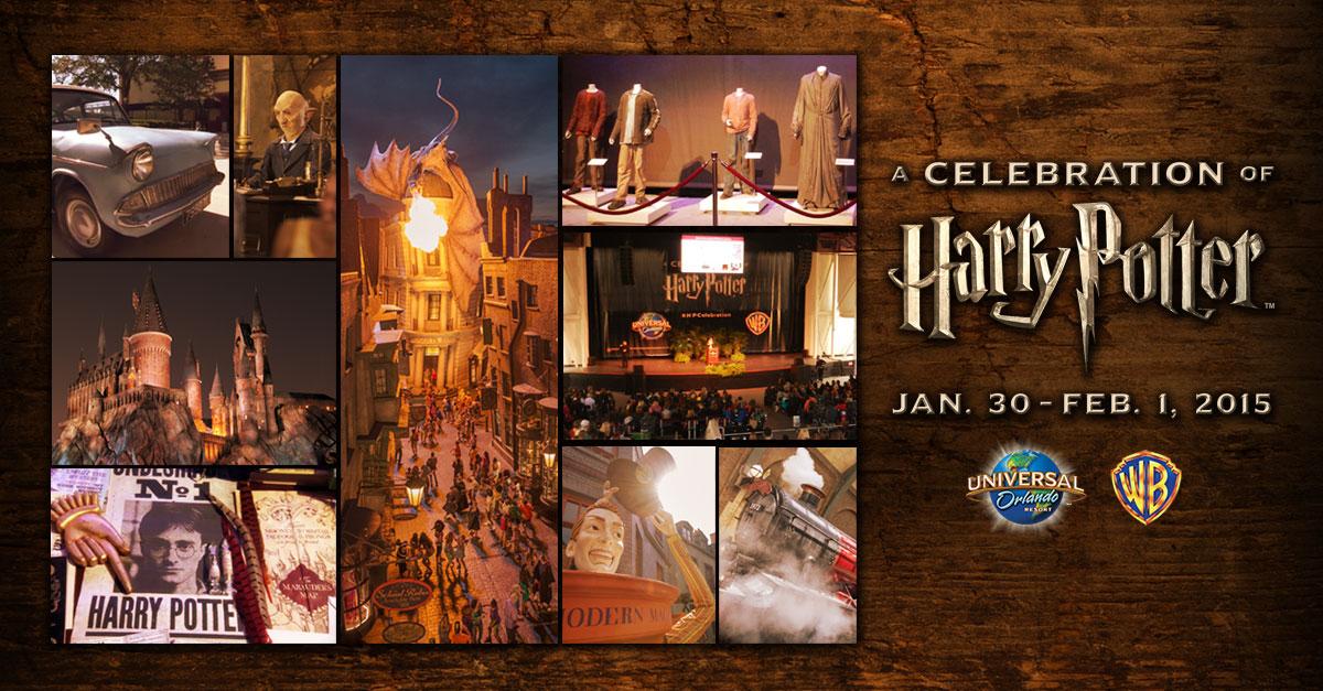 2nd Annual Harry Potter Celebration at Universal Studios Orlando #HPCelebration