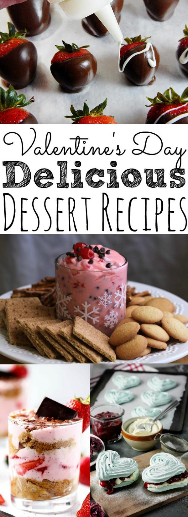 Easy 25 Valentine's Day Desserts
