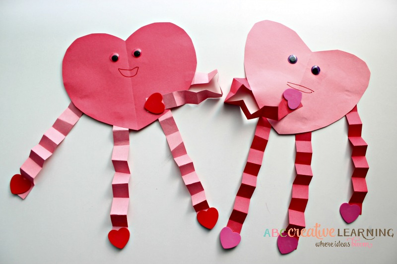 Easy Valentine's Day Heart Craft Kids Craft