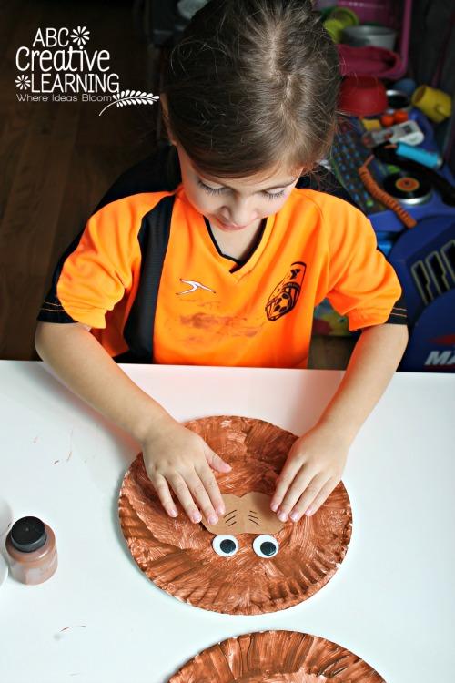 Groundhog Paper Plate Kids Craft February Crafts