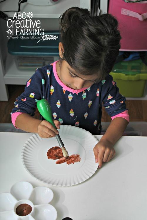 Groundhog Paper Plate Kids Craft Painting Craft
