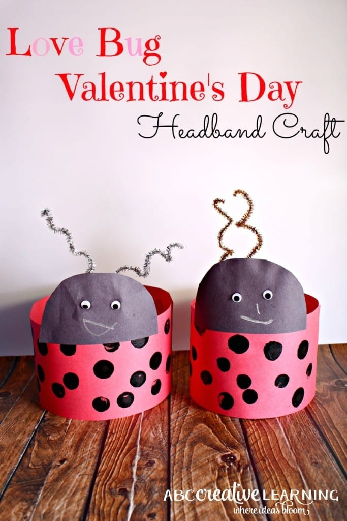 Love Bug Valentine's Day Headband Craft