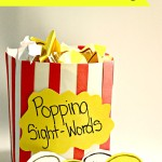Popping Sight-Words and Sentence Building Game