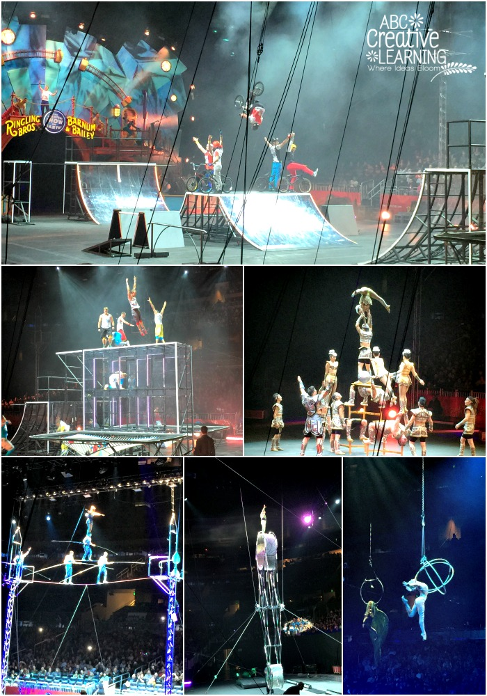 Ringling Bros. and Barnum & Bailey CIRCUS XTREME Stunts