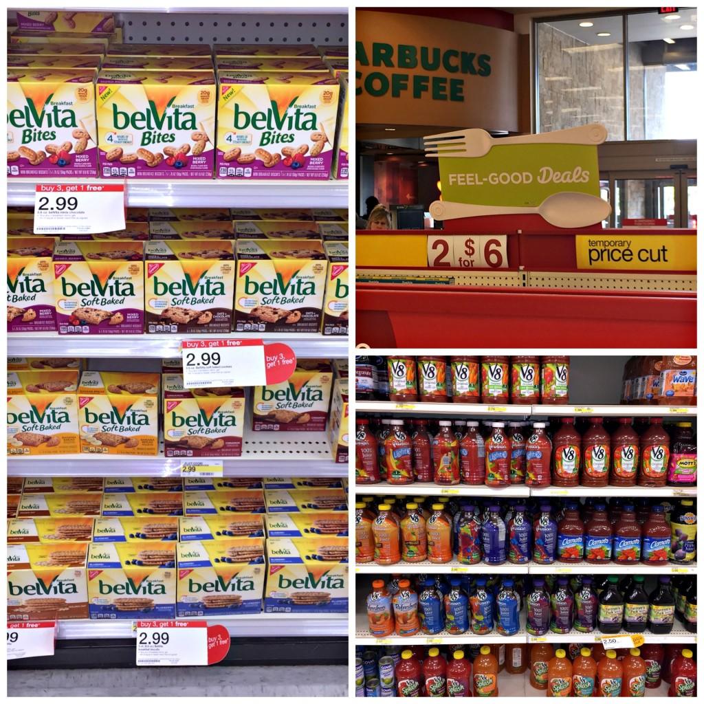 belVita Bites and V8 Veggie Blends Available at Target!