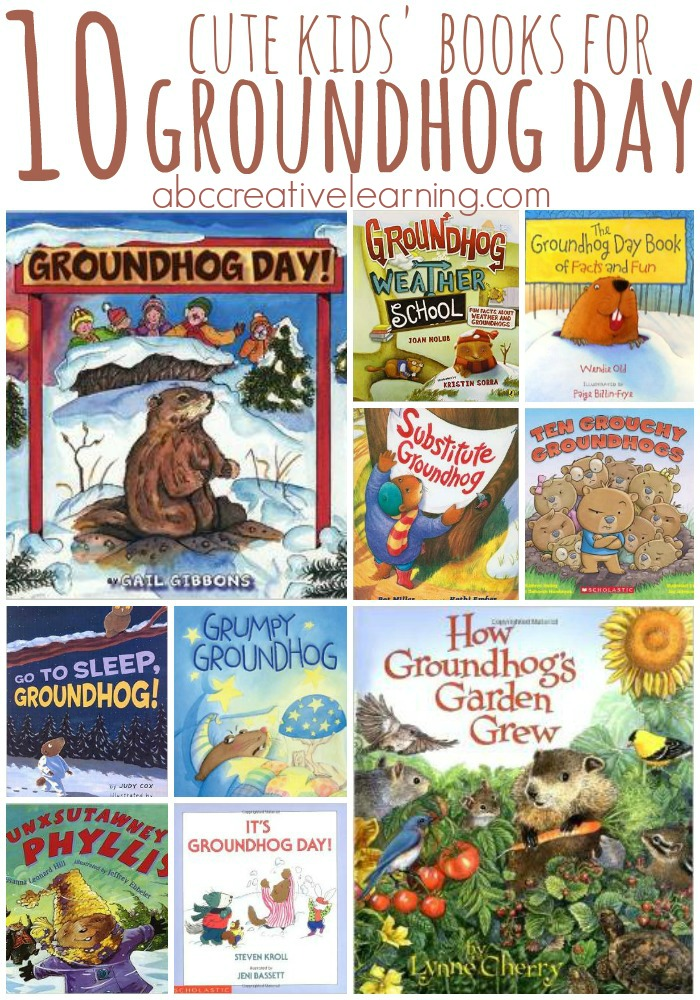 10 Cute Kids Books For GroundHog Day
