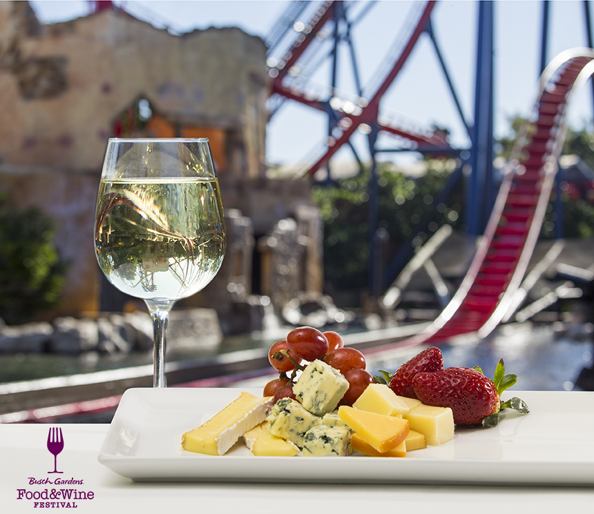 Busch Gardens Food and Wine Festival Food List