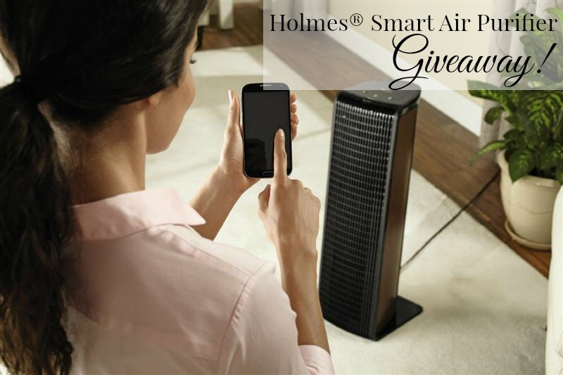 Holmes® Smart Air Purifier with WeMo® Review and Giveaway