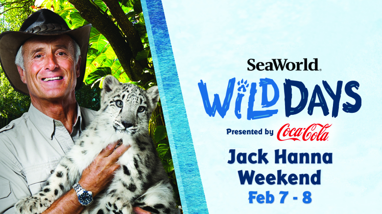 SeaWorld Wild Days Jack Hanna Weekend