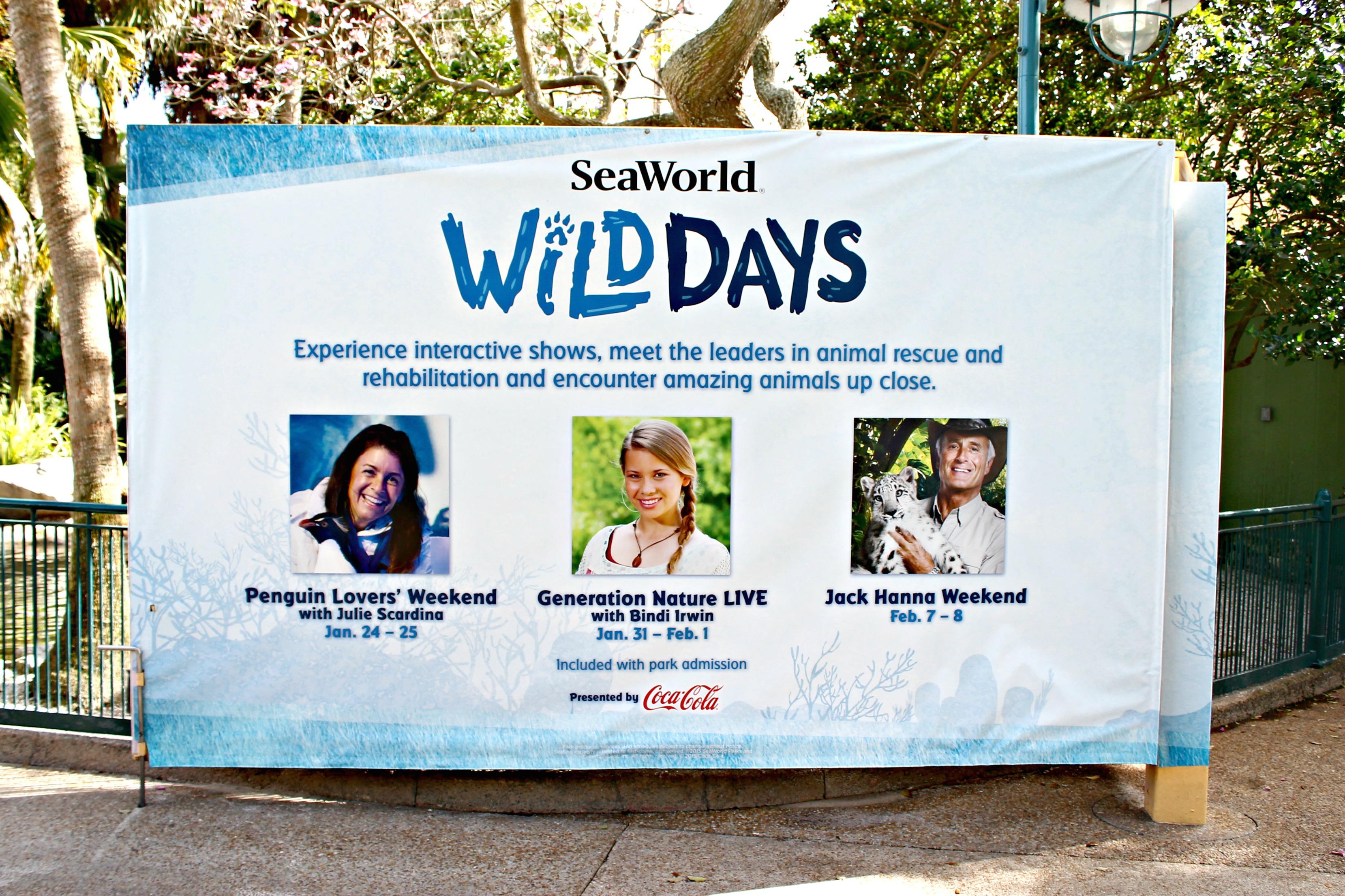 Wild Days Weekend at SeaWorld Orlando