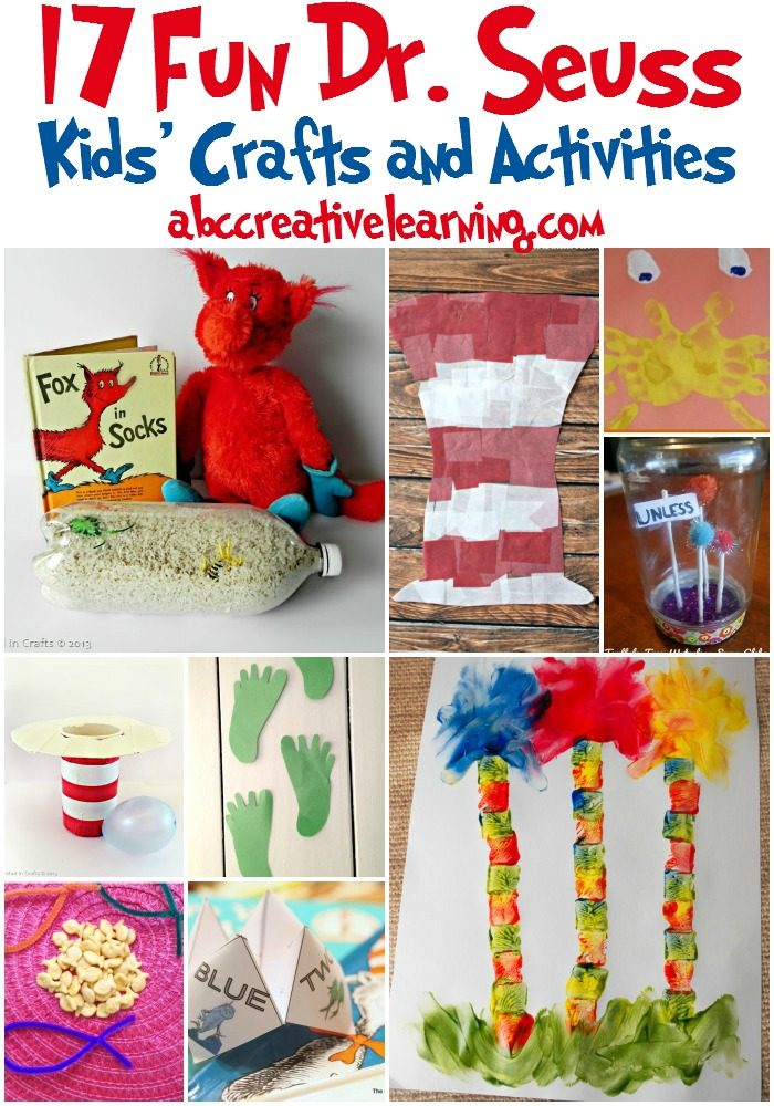 17 Fun Dr. Seuss Kid's Crafts and Activities