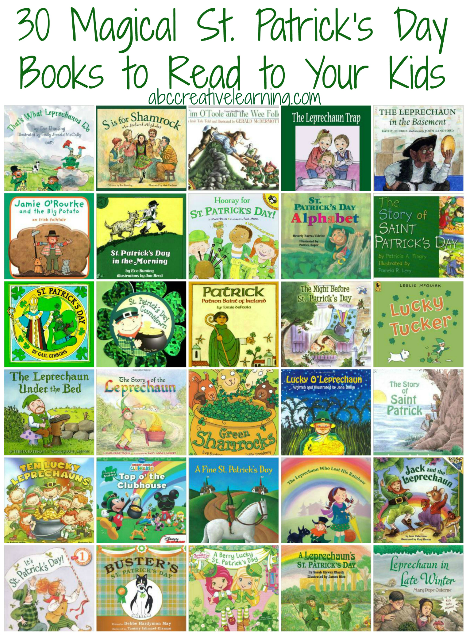 30 magical st patricks day books