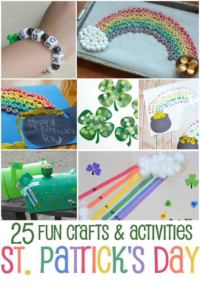 25 Fun St. Ptrick's Day Crafts and Activities for Kids