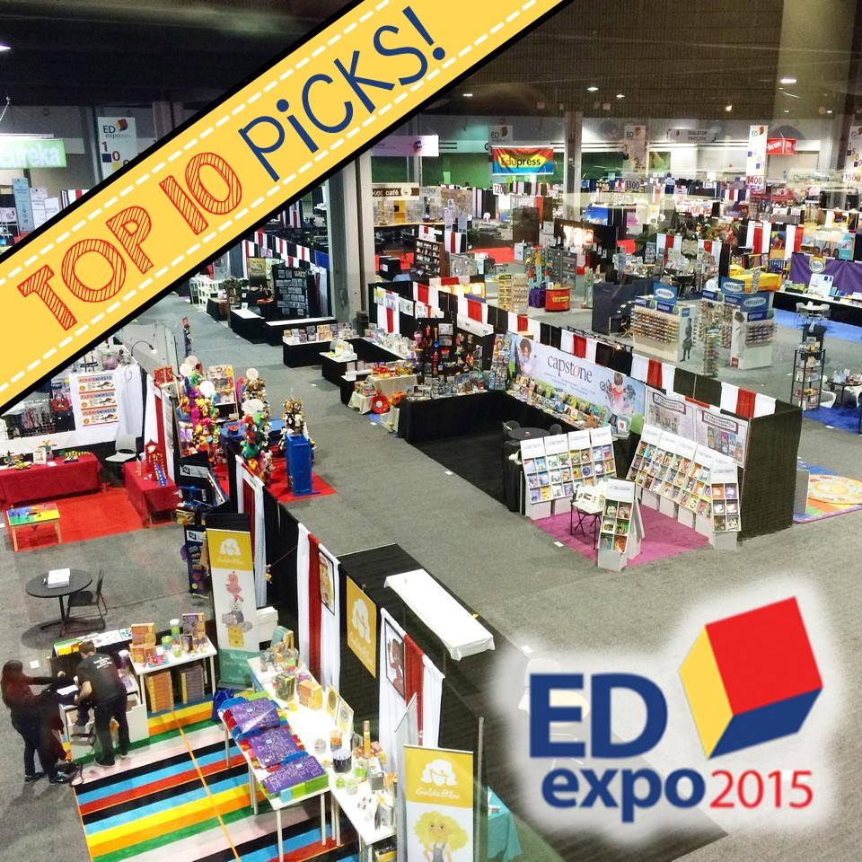 Top Ten Featured Products at EDExpo 2015 Picked by Educators