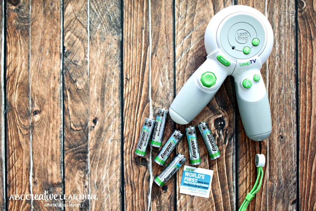 Creating Kids Crafts with Reusable Materials Energizer Eco Advanced Batteries