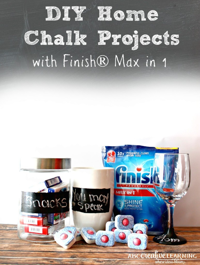 DIY Home Chalk Project with Finish® Max in 1