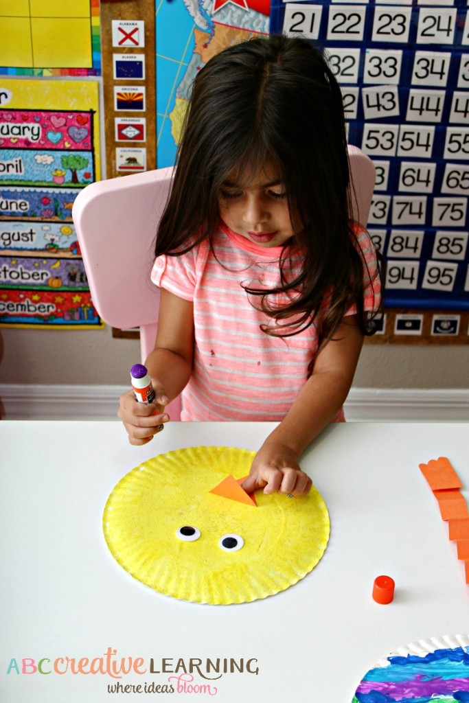Paper Plate Easter Chick Kids Crafts