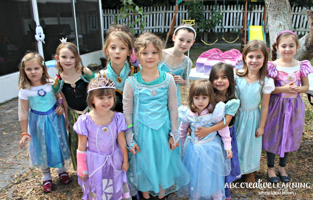 Hosting a Princess Tea Party #DisneySide Celebration