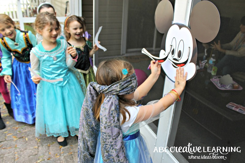 Hosting a Princess Tea Party #DisneySide Celebration Mickey Game