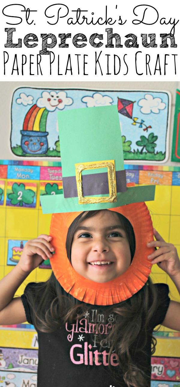 ac9cd909 St. Patrick's Day Leprechaun Kids Craft - Simply Today Life