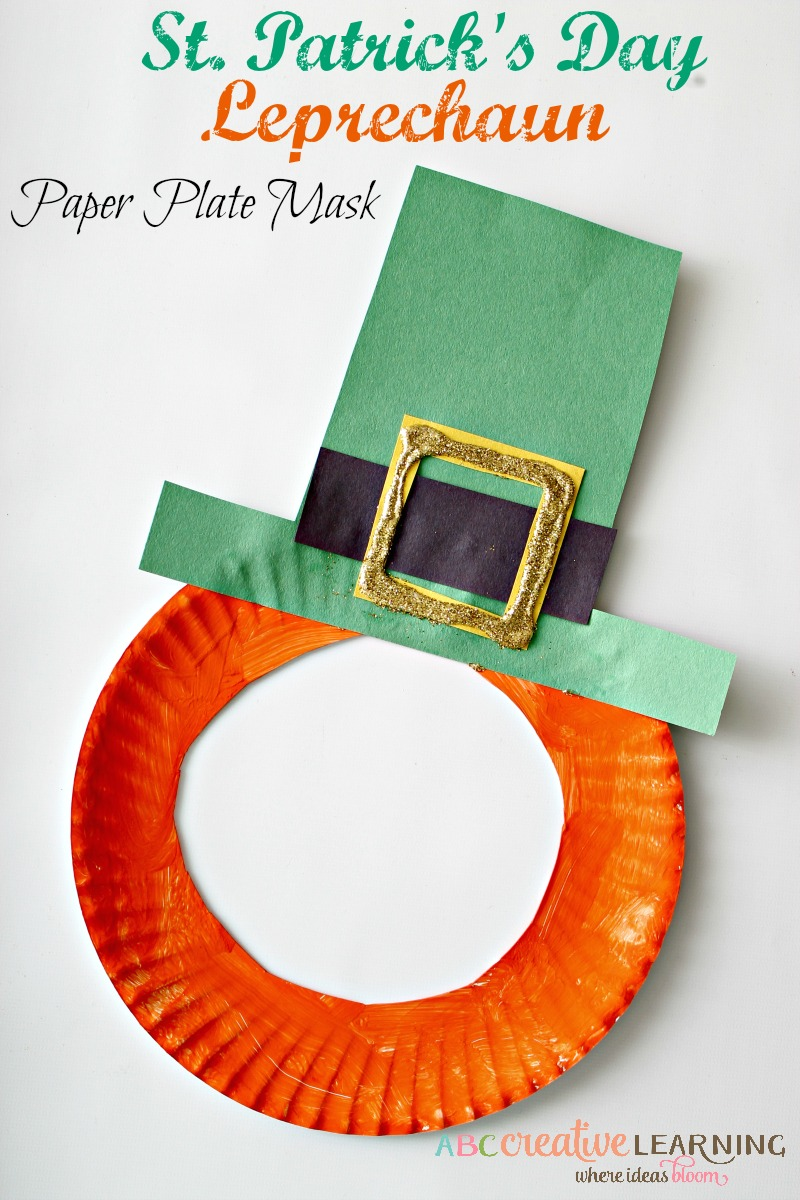 sc 1 st  ABC Creative Learning & St. Patricku0027s Day Craft Leprechaun Paper Plate Mask